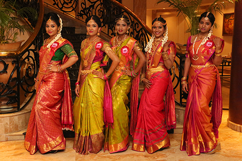 Models in Tamil Traditional Bridal Wear