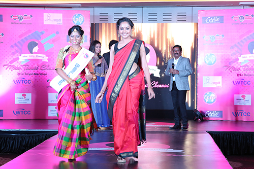 Ramp Walk with Ms Smithi Venkat, Ad Model